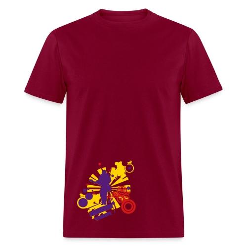 The Look of Music - Men's T-Shirt