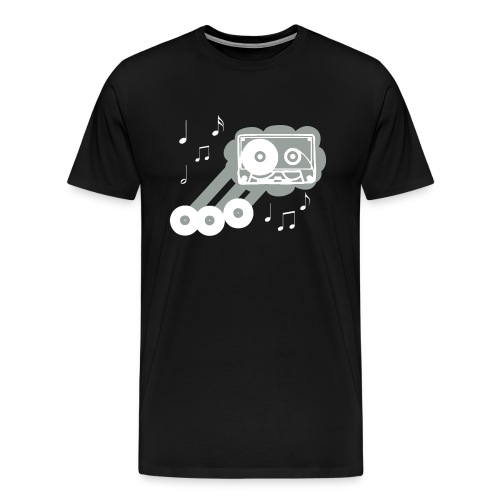 Music Cloud - Men's Premium T-Shirt