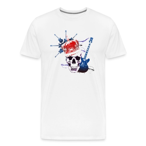 White Punk - Men's Premium T-Shirt