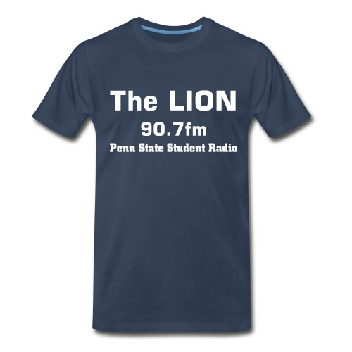 The LION Navy Tee - Men's Premium T-Shirt