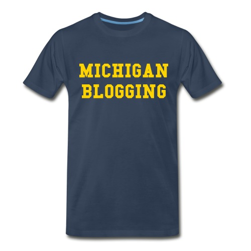 Michigan Blogging - Men's Premium T-Shirt