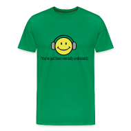 T-Shirts ~ Men's Premium T-Shirt ~ Smile - You've just been mentally undressed