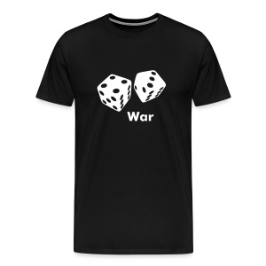 WAR dice - Men's Premium T-Shirt