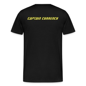 Captain Currency Tee - Men's Premium T-Shirt