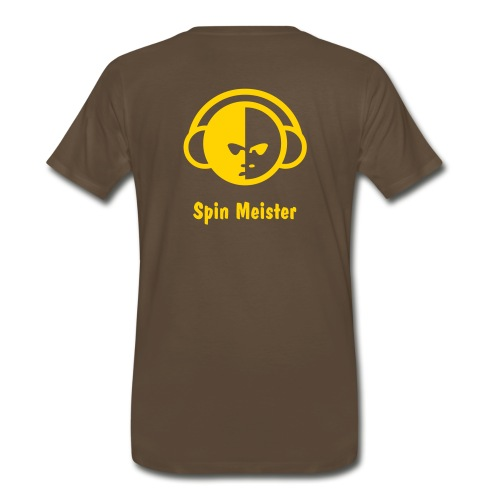 Men's heavyweight t-shirt, SpinMeister - Men's Premium T-Shirt