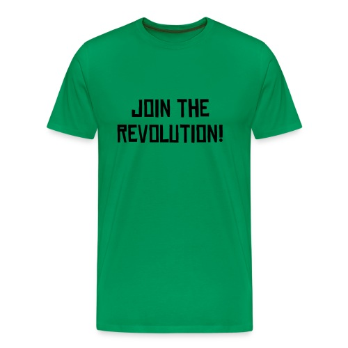 Join the revolution before its popular Tee - Men's Premium T-Shirt