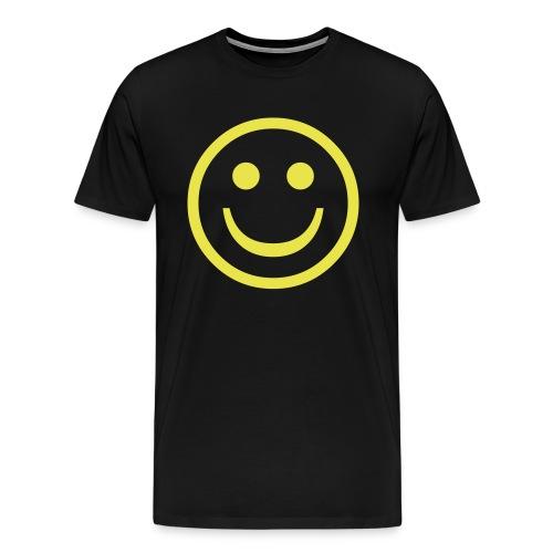 SMILEY FACE - T-SHIRT - Men's Premium T-Shirt