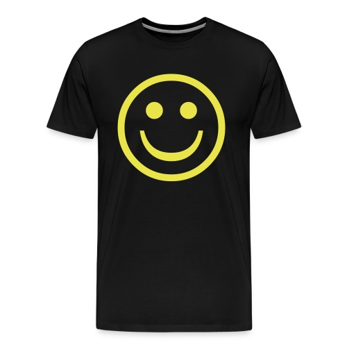 SMILEY FACE - T-SHIRT - Men's Premium T-Shirt