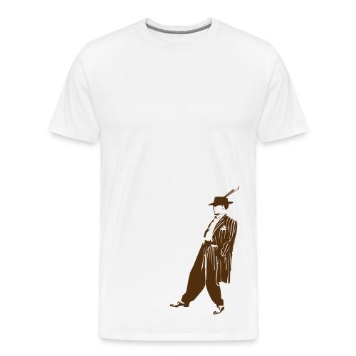 Oldie Gangster - Men's Premium T-Shirt