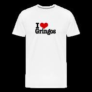 T-Shirts ~ Men's Premium T-Shirt ~ I Heart Gringos