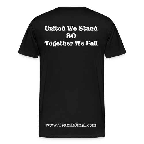 United We Stand So Together We Fall - Men's Premium T-Shirt