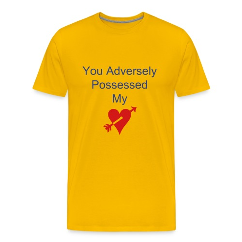 Adverse Possession - Men's Premium T-Shirt