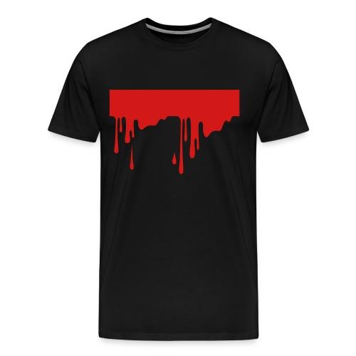 Dripping Blood T-Shirt - Men's Premium T-Shirt