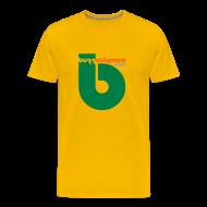 T-Shirts ~ Men's Premium T-Shirt ~ Buzzout Yellow