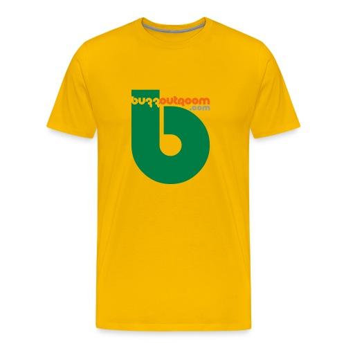 Buzzout Yellow - Men's Premium T-Shirt