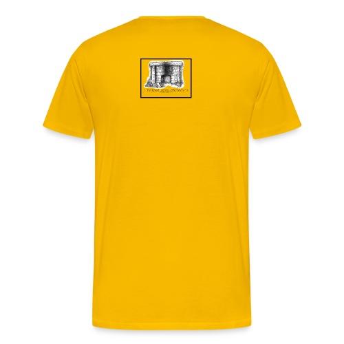 Save Chumley's Men's Yellow T - Men's Premium T-Shirt