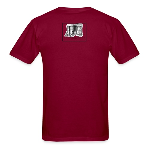 Save Chumley's: Men's Burgundy T - Men's T-Shirt