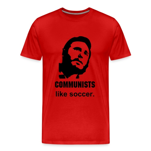 Commie Soccer - Men's Premium T-Shirt