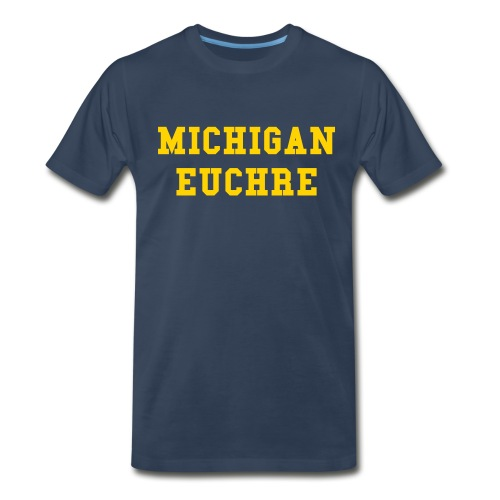 Michigan Euchre - Men's Premium T-Shirt