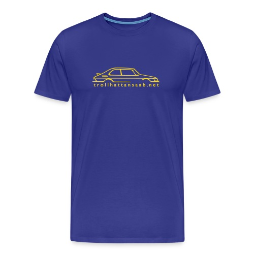 Heavy C900 blue/yellow - Men's Premium T-Shirt