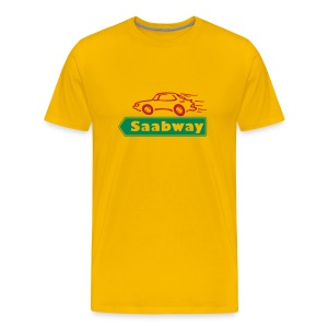 Saabway acid - Men's Premium T-Shirt