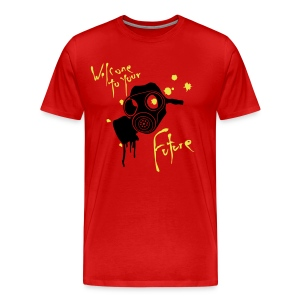 gas mask funky fresh... - Men's Premium T-Shirt