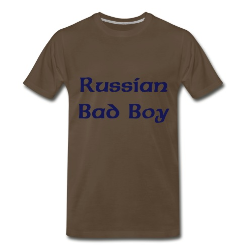Heavyweight Russian bad boy true Playa - Men's Premium T-Shirt
