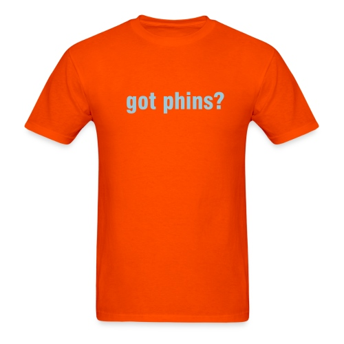 got phins? - Men's T-Shirt