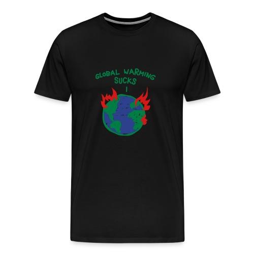Global warming sucks! - Men's Premium T-Shirt