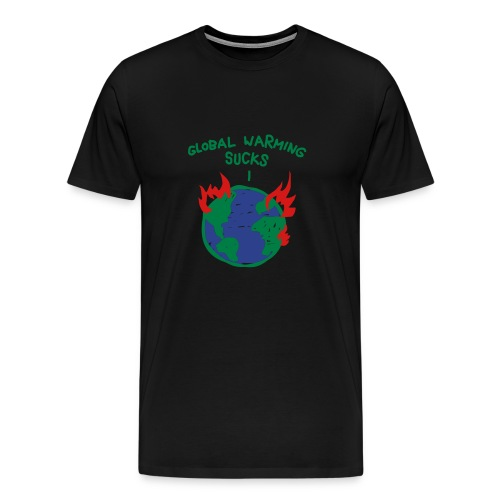 Global warming sucks! - Men's Premium T-Shirt
