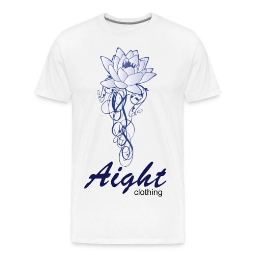 aighttribalflower - Men's Premium T-Shirt