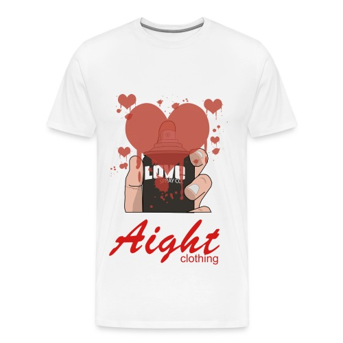 aightlovespray - Men's Premium T-Shirt