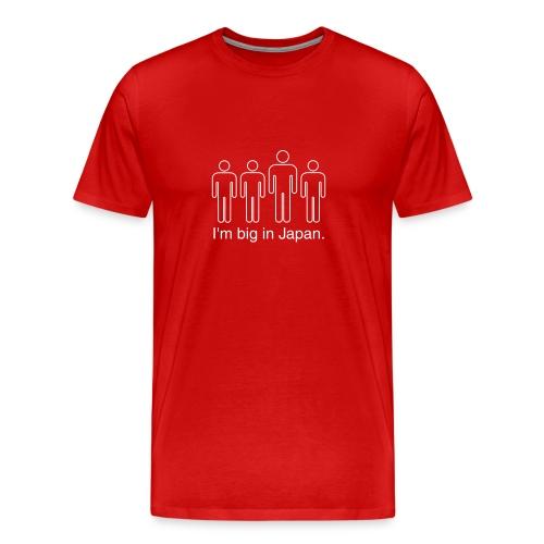 I'm Big In Japan (Red) - Men's Premium T-Shirt