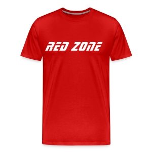 Party at AO's Red Zone T-Shirt - Men's Premium T-Shirt