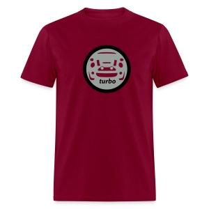 Silver & Black Turbo - Men's T-Shirt