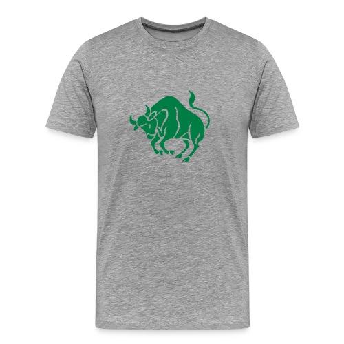 Heavyweight Cotton T-Shirt (Tarus Print) - Men's Premium T-Shirt