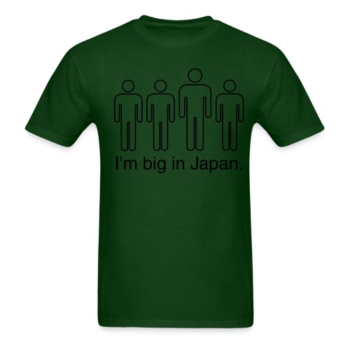 Big in Japan Heavy Tee - Men's T-Shirt