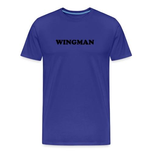 Wingman Heavy Tee - Men's Premium T-Shirt