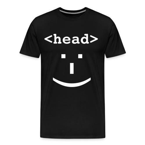 head shirt - Men's Premium T-Shirt