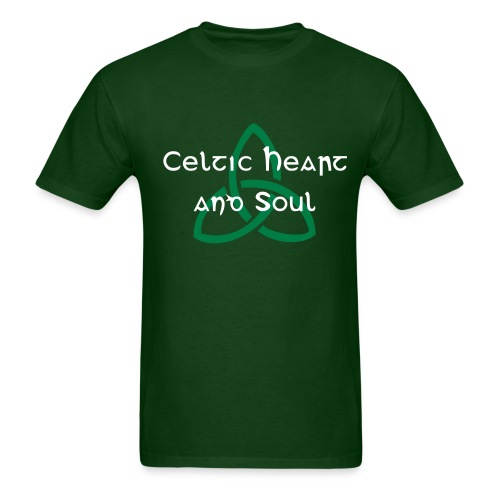Celtic Heart and Soul (Men) - Men's T-Shirt