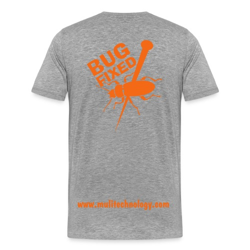 Ash Bug Fixed Cotton Tee - Men's Premium T-Shirt