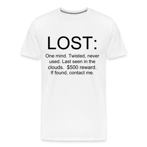 Lost tee - Men's Premium T-Shirt