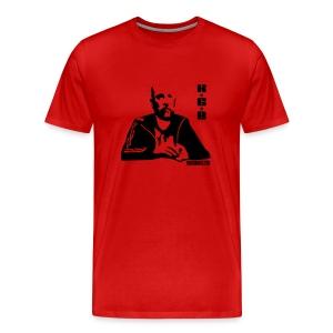 teddy kgb red - Men's Premium T-Shirt