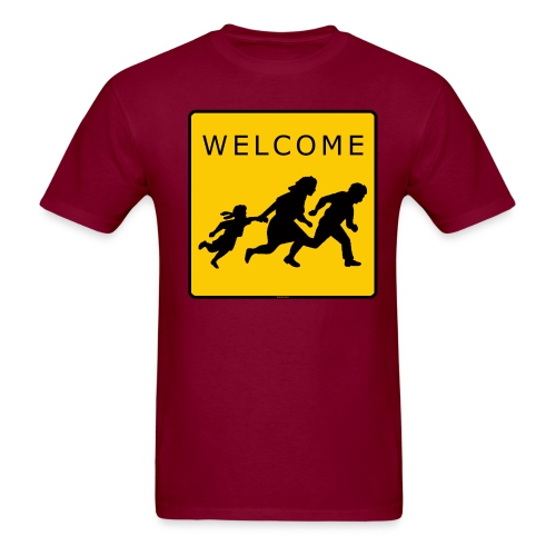 Welcome T - Men's T-Shirt