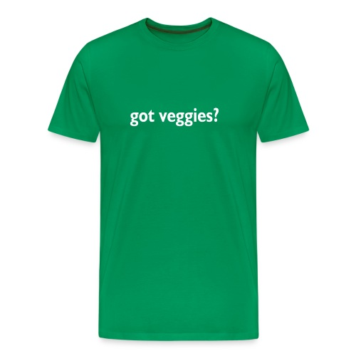 got veggies? Tee - Men's Premium T-Shirt