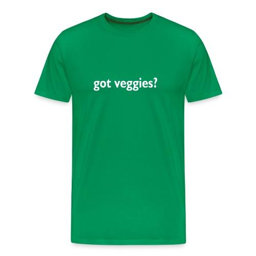 got veggies? Tee - Men's Premium T-Shirt