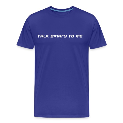 Binary - [Geek-19] - Men's Premium T-Shirt
