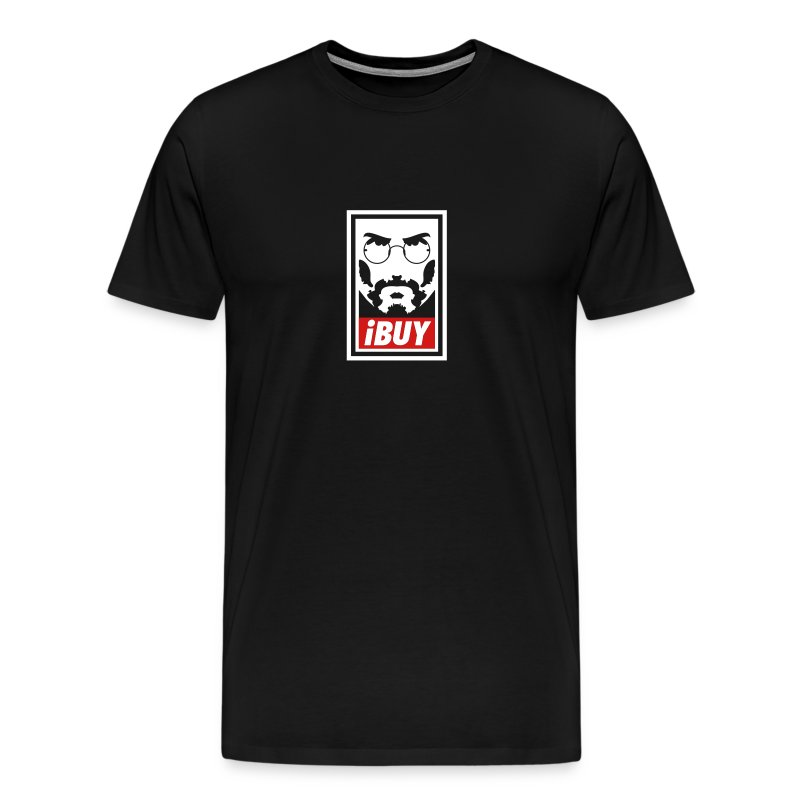 Steve Jobs has a Posse - Men's Premium T-Shirt