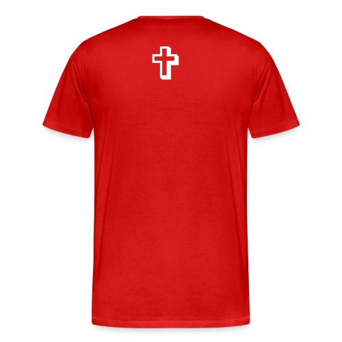 Mens Covered by the Blood - Men's Premium T-Shirt