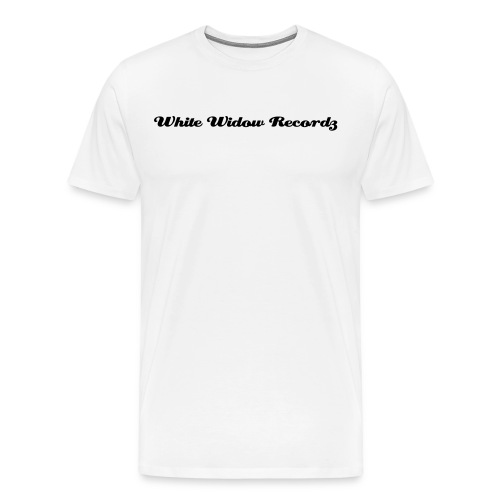 White Widow Records Tee - Men's Premium T-Shirt